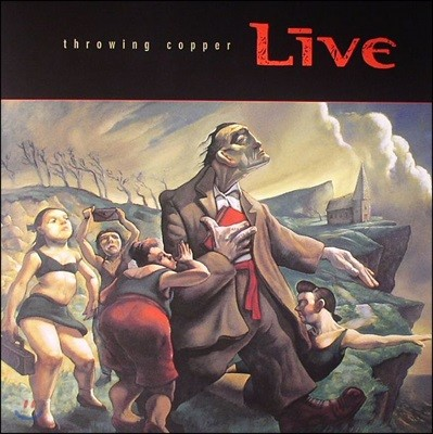 Live - Throwing Copper [LP]