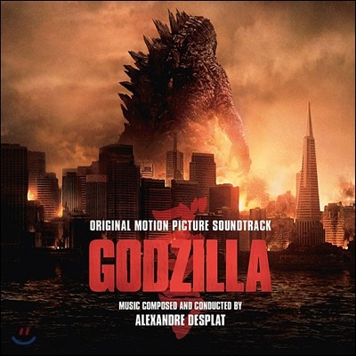 고질라 2014 (Godzilla OST by Alexandre Desplat) [2LP]