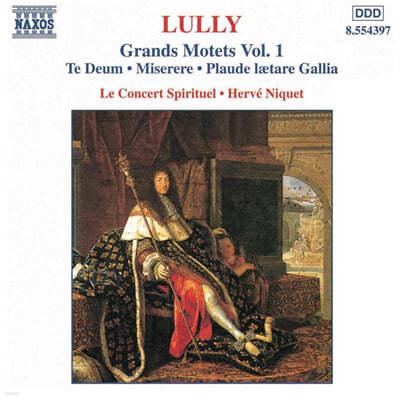 Lully : Grands Motets Vol.1 : NiquetㆍLe Concert Spirituel