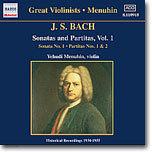 Yehudi Menuhin 바흐: 바이올린 소나타와 파르티타 1집 (Bach: Sonatas and Partitas Vol.1)