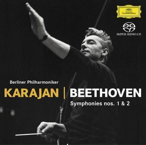 베토벤 : 교향곡 1,2번 - 헤르베르트 폰 카라얀 (SACD)