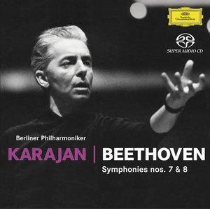 베토벤 : 교향곡 7ㆍ8번 (SACD) - 헤르베르트 폰 카라얀