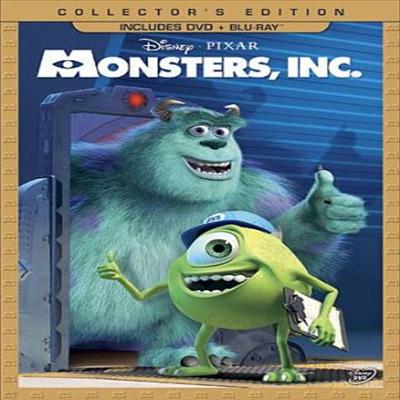 Monsters, Inc. (몬스터 주식회사) (2011)(지역코드1)(한글무자막)(DVD)