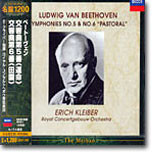 Beethoven : Symphony No.5 & No.6 'Pastoral' : Erich KleiberㆍRoyal Concertgebouw Orchestra