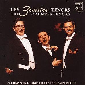 Pascal Bertin / Andreas Scholl / Dominique Visse 카운터 테너들 - 안드레아스 숄, 도미니크 비쎄, 파스칼 베르탱 (Les Contre-Tenors [The Countertenors])