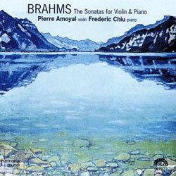 Brahms : Sonata for Violin & Piano : AmoyalㆍChiu