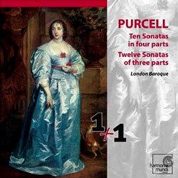 Purcell : Sonates en Trio : London Baroque