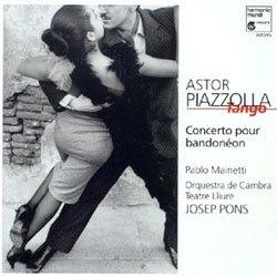 Piazzalla : Concerto for Bandoneon : Pons