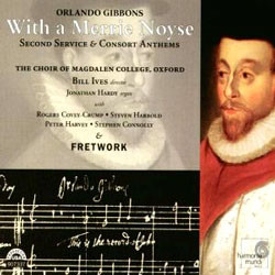 Fretwork 올랜도 기번스: 교회음악 (Orlando Gibbons: With A Merrie Noyse)