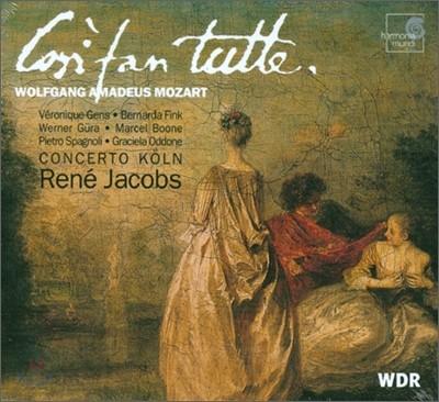 Rene Jacobs 모차르트: 코지 판 투테 - 르네 야콥스 (Mozart : Cosi Fan Tutte)