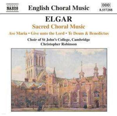 Elgar : Sacred Choral Music