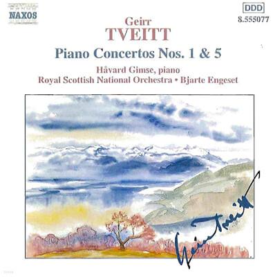 Tveitt : Piano Concerto Nos.1 & 5