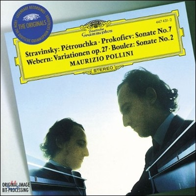 Maurizio Pollini 스트라빈스키: 페트로슈카 / 프로코피에프: 피아노 소나타 7번 / 베베른: 변주곡 / 불레즈: 피아노 소나타 2번
