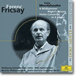 Mendelssohn : A Midsummer Night's Dream : Fricsay