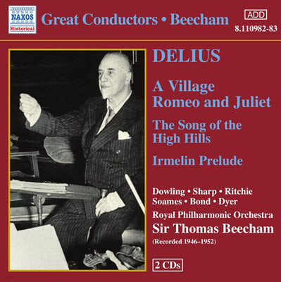 Delius : A Village Romeo and Juliet : Beecham