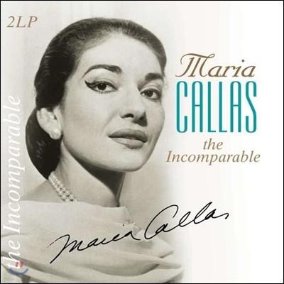 Maria Callas - The Incomparable 마리아 칼라스 오페라 아리아 모음집 [2LP]