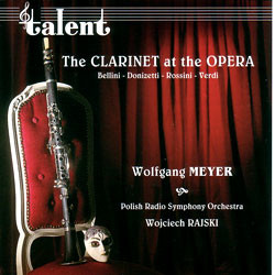 The Clarinet at the Opera