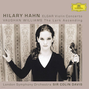 엘가 : 바이올린 협주곡 / 본 윌리암스 - 힐러리 한