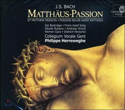 Philippe Herreweghe 바흐: 마태 수난곡 - 필립 헤레베헤 (Bach: Matthaus-Passion BWV 244)