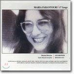 Maria Farantouri - 17 Songs