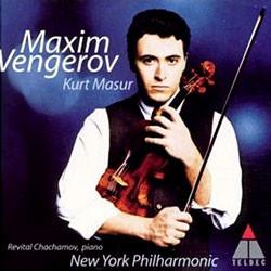 Dvorak : Violin Concerto / Elgar : Violin Sonata : VengerovㆍNYPㆍMasur