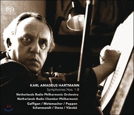 Markus Stenz 하르트만: 교향곡 전집 (Karl Amadeus Hartmann: Symphonies Nos. 1-8)