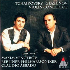 Tchaikovsky / Glazunov : Violin Concerto : VengerovㆍBerliner PhilharmonikerㆍAbbado