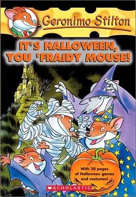 Geronimo Stilton #11 : It's Halloween, You 'Fraidy Mouse!