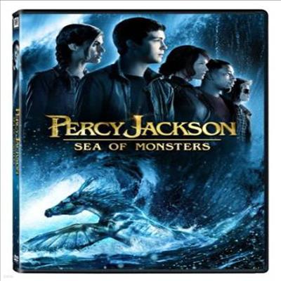 Percy Jackson: Sea Of Monsters (퍼시잭슨과 괴물의 바다)(지역코드1)(한글무자막)(DVD)