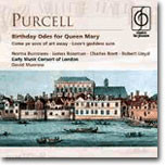 Purcell : Birthday Odes for Queen Mary : David Munrow