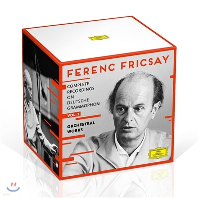 Ferenc Fricsay 페렌츠 프리차이 DG 전집 Vol. 1 - 관현악 작품집 (Complete Recordings on DG: 1. Orchestral Works)
