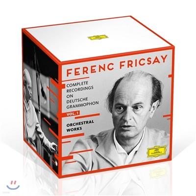 Ferenc Fricsay 페렌츠 프리차이 DG 전집 Vol. 1 - 관현악 작품집 (Complete Recordings on DG: 1. Orchestral Works)