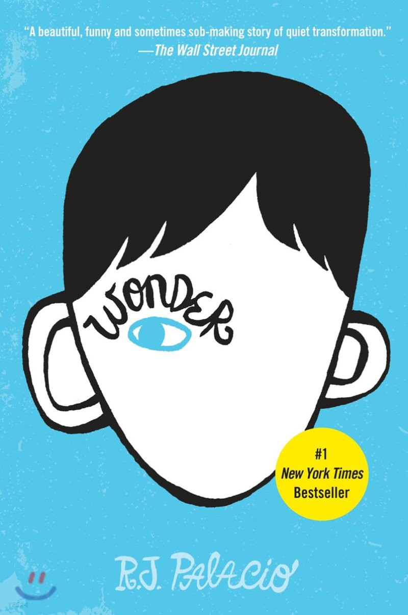 Wonder (미국판) : 줄리아 로버츠 주연 영화 '원더' 원작 소설