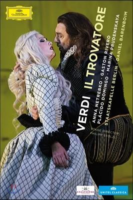 Anna Netrebko 베르디 : 일 트로바토레 (Verdi : Il Trovatore) 안나 네트렙코, 플라시도 도밍고, 다니엘 바렌보임