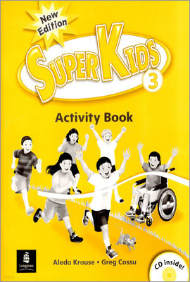 New Super Kids 3 : Activity Book with CD