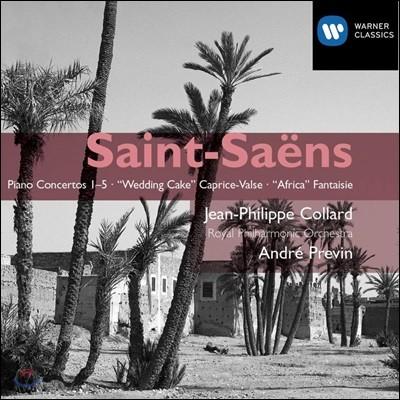 Jean-Philippe Collard / Andre Previn 생상스: 피아노 협주곡 전곡