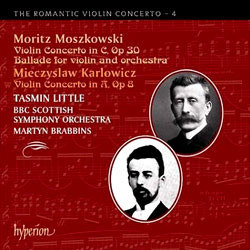 Tasmin Little 낭만주의 바이올린 협주곡 4집 - 모슈코프스키 / 칼를로비츠 (The Romantic Violin Concerto 4 - Moszkowski / Karlowicz)