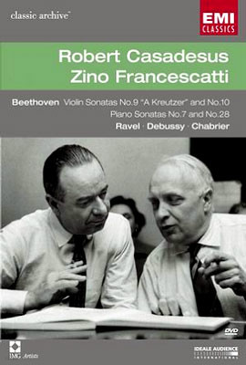 Robert CasadesusㆍZino Francescatti