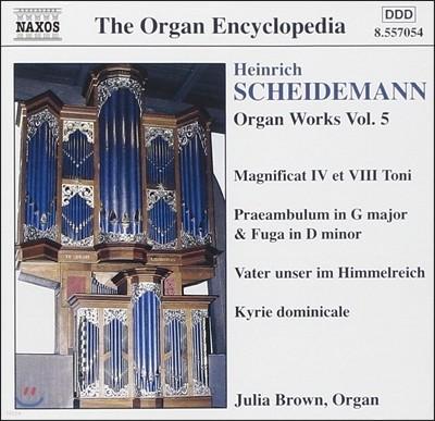 Julia Brown 하인리히 샤이데만: 오르간 작품 전곡 5집 - 마니피카트 4 & 8권, 키리에 도미니칼레 (Heinrich Scheidemann: Magnificat IV & VIII Toni, Kyrie Dominicale) 줄리아 브라운