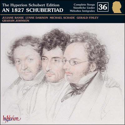 Juliane Banse / Gerald Finley 슈베르트 에디션 36집 (An 1827 Schubertiad)