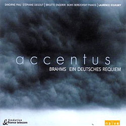 Laurence Equilbey / Sandrine Piau 브람스: 독일 레퀴엠 (Brahms: Ein Deutsches Requiem op.45 London Version)