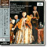 Bach : Sonata for Viola da Gamba and Obligato Harpsichord BWV1027-1029 : August WenzingerㆍEduard Muller