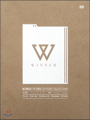 위너 (WINNER) - WINNER TV DVD : Episode Collection [재발매]