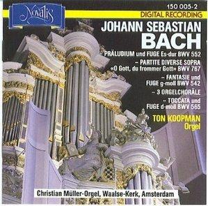 Ton Koopman / Bach : Ausgewahlte Orgelwerke (수입/1500052)