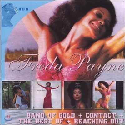 Freda Payne - Band Of Gold & Contact & The Best Of & Reaching Out (Deluxe Edition)