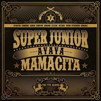 슈퍼 주니어 (Super Junior) 7집 - Mamacita [A Ver.]