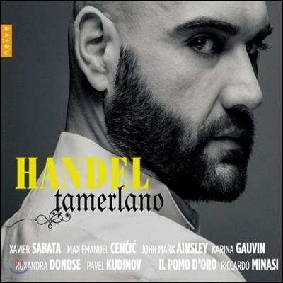 Max Emanuel Cencic / Riccardo Minasi 헨델 - 타메를라노 (Handel: Tamerlano) 3CD