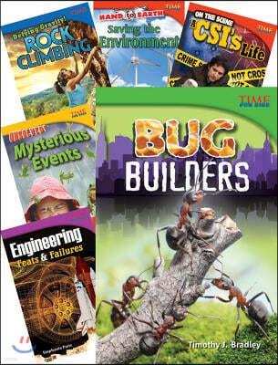 Time for Kids(r) Nonfiction Readers Stem Grade 4, 10-Book Set