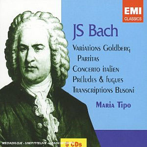 Bach : Variations Goldberg : Maria Tipo