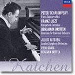차이코프스키 : 피아노 협주곡 / 리스트 / 브리튼 - 카첸, 감바